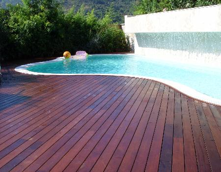 Outdoor Bamboo Deck--Eastglory--bamboo stair tread,bamboo